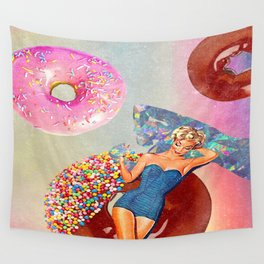 Foods Before Dudes Wall Tapestry