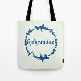 Sphyrnidae Hammerheads Tote Bag