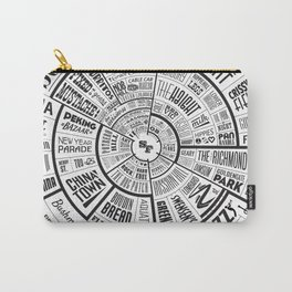 San Francisco Type Wheel Carry-All Pouch