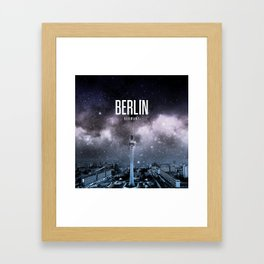 Berlin Wallpaper Framed Art Print