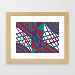 Purple Infusion Framed Art Print