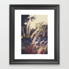 Standing Tall Framed Art Print