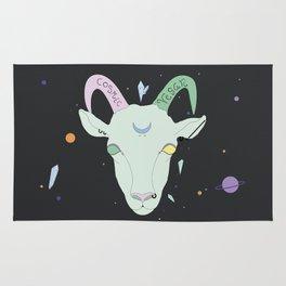 Vegan Cosmic Goat Rug