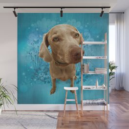 PARKER POSEY (sky) puffy cloud series Wall Mural