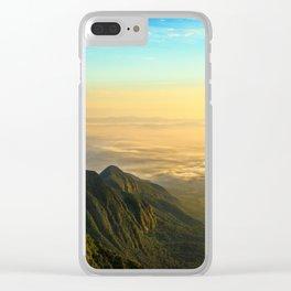 Permian Sunrise Clear iPhone Case