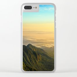 Permian Sunrise Clear iPhone Case