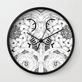 Mandala Series 04 Wall Clock