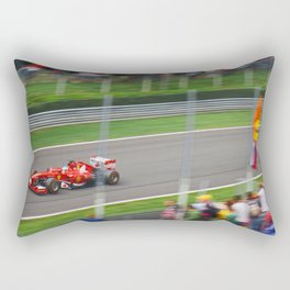Fernando Alonso - 2013 Gran Premio d'Italia Rectangular Pillow