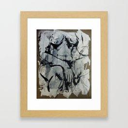 Pose 035 Framed Art Print
