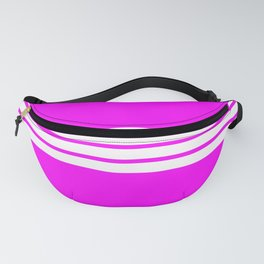 "4 Stripes on Pink ""Girlpower"" Fanny Pack"