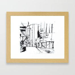 NYC High Line Framed Art Print