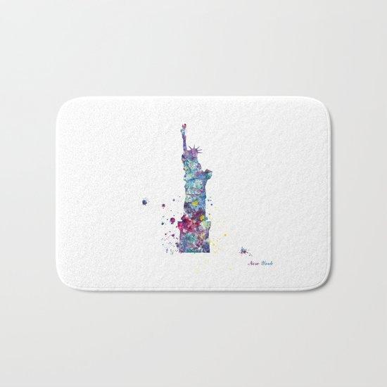 Statue of Liberty - New York Bath Mat