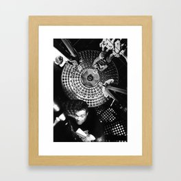 Looking Down on Us Framed Art Print
