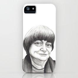 Agnes Varda iPhone Case