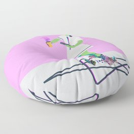 Crystal Intentions Floor Pillow