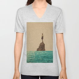 Lonesummer Unisex V-Neck