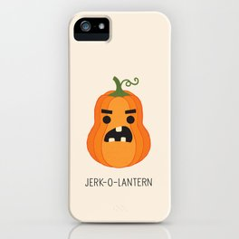 JERK-O-LANTERN iPhone Case