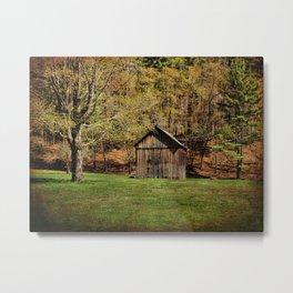 The Simple Barn Metal Print