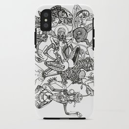 Mahaasukha Healing iPhone Case