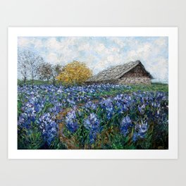 Coates' Barn Art Print