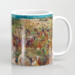 The Procession to Calvary by Pieter Bruegel the Elder (1564) Coffee Mug