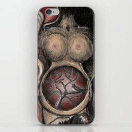 The early bird gets the womb iPhone Skin