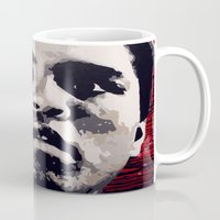 ali gulec Mugs featuring Ali by CjosephART