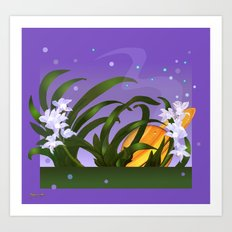 The Flowering of the Universe Art Print