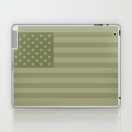 Camo Stars and Stripes – USA Flag in Military Camouflage Colors [FalseFlag 1] Laptop & iPad Skin