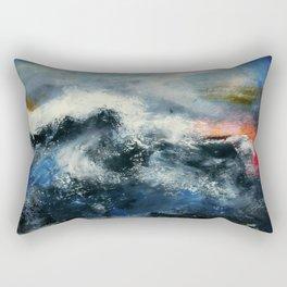 Red Skies Rectangular Pillow