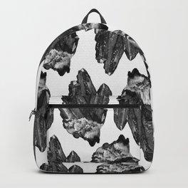 gray skies crystal cluster Backpack
