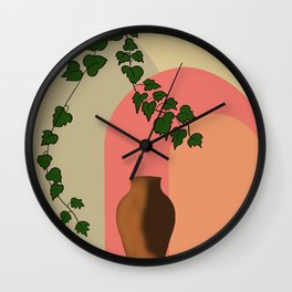 Ivy Decor Minimal  Wall Clock