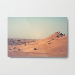 Dubai 90 Metal Print