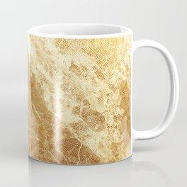 Golden Marble Pattern Coffee Mug