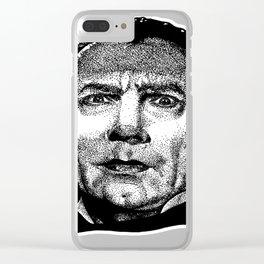 Bela Lugosi Dracula Clear iPhone Case
