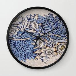 Art work of William Morris 4 Wall Clock