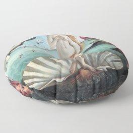 The Birth of Venus, Sandro Botticelli Floor Pillow