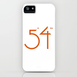 numbers .. five foot four iPhone Case