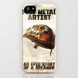 Full metal artist iPhone Case