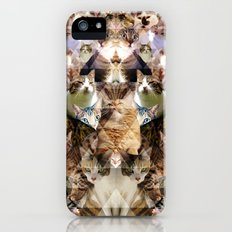 Cat Kaleidoscope iPhone (5, 5s) Slim Case