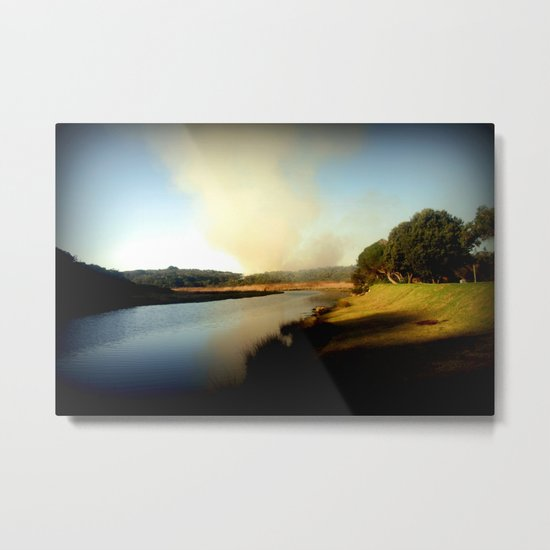 Where there's smoke, there's Fire! Metal Print