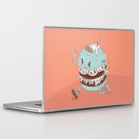 burger Laptop & iPad Skins featuring Burger by BIGMOUTH