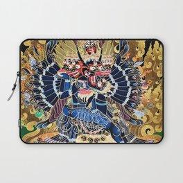 Buddhist Vajrabhairava Demon Deity 4 Laptop Sleeve