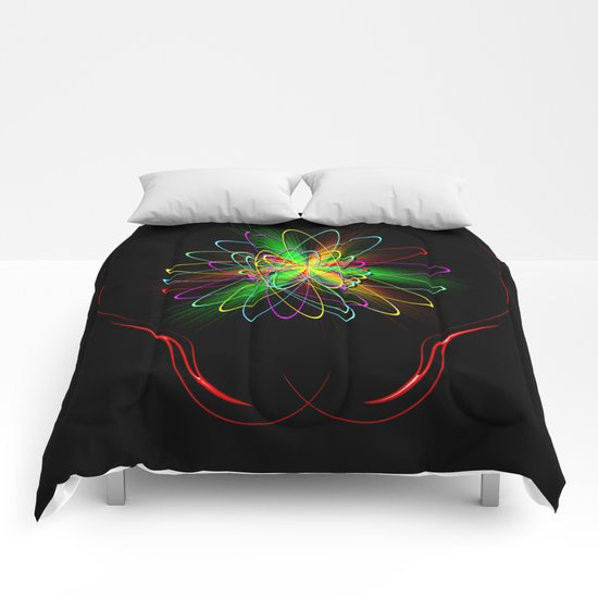 Abstract Perfection 56 Comforters