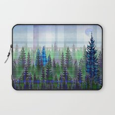 Plaid Forest Laptop Sleeve