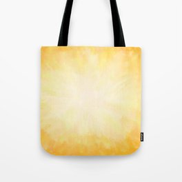 Golden Sunburst Tote Bag