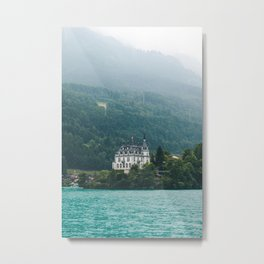 Iseltwald Switzerland Metal Print