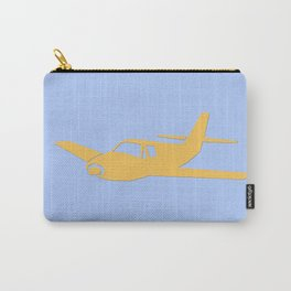 airplane illustration Carry-All Pouch