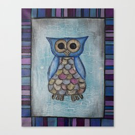 Owl Hoot Canvas Print