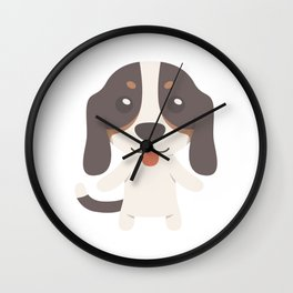 Berner Niederlaufhunde Gift Idea Wall Clock